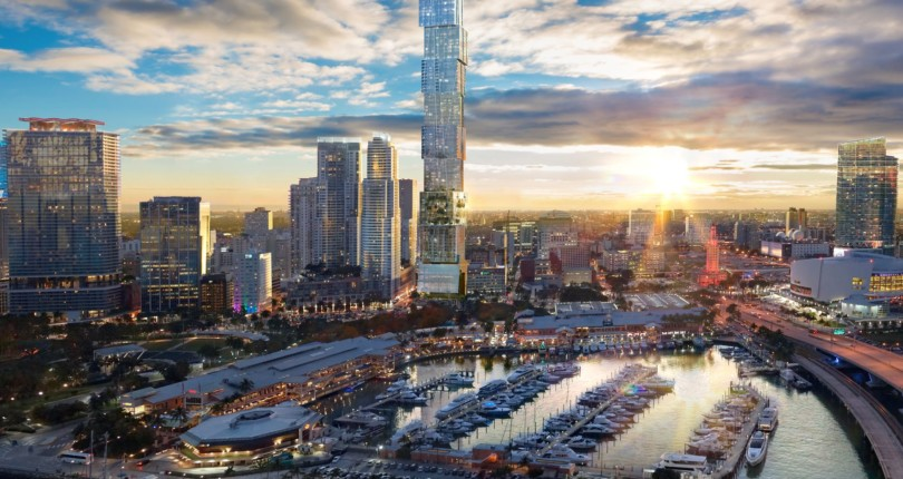 Supertall Waldorf Astoria Hotel & Condo Tower for Downtown