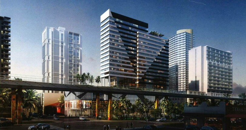 Brickell Twin Tower hotel set to break ground with multimillion-dollar budget