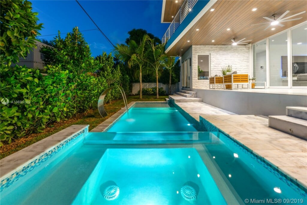Pool Miami Beach Villa
